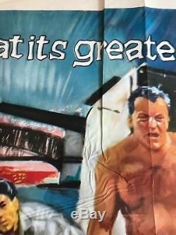The Siege Of Pinchgut Original Quad Poster 1959 Jock Hinchliffe Art, Ealing Film