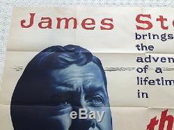 The Spirit Of St Louis Original Movie Quad UK Film Poster 1957 James Stewart
