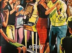 The Truth (la verite) brigitte bardot original uk quad film poster