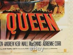 The Viking Queen Original Movie Quad Poster 1967 Tom Chantrell Art, Don Murray