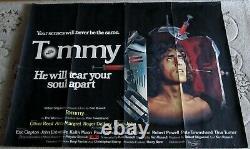 Tommy The Who 1975 original vintage quad movie cinema poster (30 x 40)