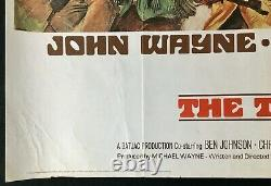 Train Robbers Original Quad Movie Poster John Wayne Ann Margaret 1973