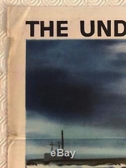 Up Periscope Original Movie Quad Poster 1959 James Garner Edmund O'Brien