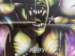 Vamp Original UK Quad Film Poster 1986 30x40 Grace Jones Cool Artwork