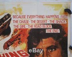 Vanishing Point, Original 1971 British Quad Movie Film Poster