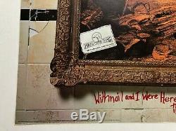 WITHNAIL AND I original 1987 UK Quad movie poster RARE george harrison beatles