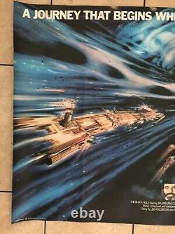 Walt Disney The Black Hole Original UK Movie Quad (1979)