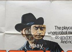 Westworld 1973 Original UK Quad Cinema Movie Film Poster Sci Fi