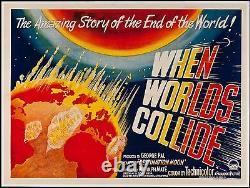 When Worlds Collide British Quad 30 X 40 from 1951