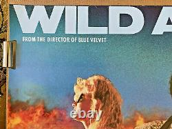 Wild At Heart (1990) UK Quad Original film poster David Lynch Nicolas Cage