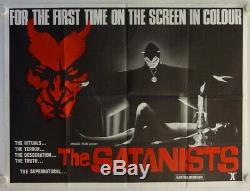 Witchcraft'70 (The Satanists) original release British Quad movie poster