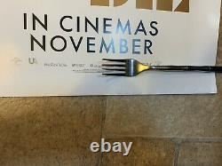2x Pas De Temps Pour Mourir Poster Quad Movie Rare Novembre & 2021 Original James Bond 007