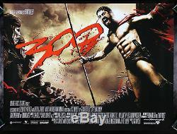 300 Cinemasterpieces Ds 2006 Colombie-quad Trois Cents Original Poster Film