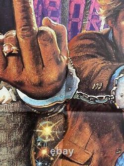 48 Heures Originale Royaume-uni Britannique Quad 30x40 Affiche De Film Eddie Murphy 1982