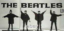 A L'aide! (1965) Très Rare Affiche Originale Du Cinéma Quad Du Royaume-uni The Beatles