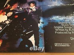Affiche De Cinéma Cinématographique Britannique Quad Original 1984 Purple Rain