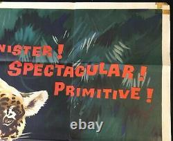 Affiche De Cinéma De Jungle Cat Walt Disney Documentaire James Algar 1959