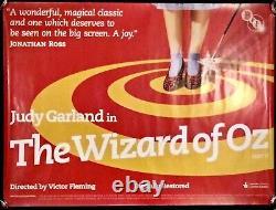 Affiche De Cinéma De L'assistant D'oz Quad Bfi Rolled Judy Garland