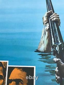 Affiche De Cinéma Du Quadruple Royaume-uni (1972) Jon Voight