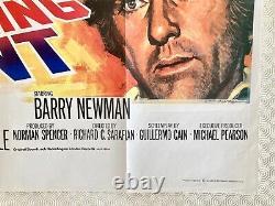 Affiche De Cinéma Originale De Vanishing Point 1971 Quad Barry Newman Tom Chantrell Art