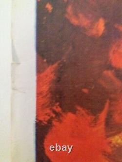 Affiche De Cinéma Originale Uk Quad De Bad Man's River 1971 Lee Van Cleef, Tom Chantrell