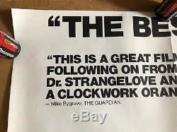 Affiche De Film Cinématographique Britannique Quad, British Full Jacket, Stanley Kubrick