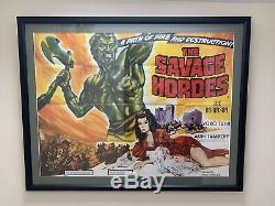 Affiche De Film Cinématographique Britannique Quad Cinema Vintage 1961