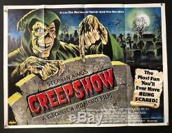 Affiche De Film Creepshow Quad 1982 Stephen King George Romero Affiches De Hollywood