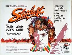 Affiche De Film Originale De Stardust Uk Quad 1974 David Essex, Arnaldo Putzu Artwork