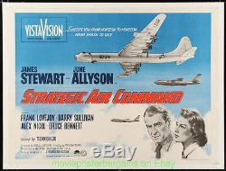 Affiche De Film Strategique Au Commandement Air