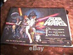 Affiche Du Film De Quadruple B Des Star Wars Rolled Academy Awards