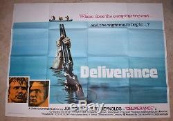 Affiche Du Film Deliverance Uk Quad Burt Reynolds Jon Voight