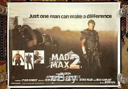 Affiche Du Film Mad 1982 Original Britannique Quad 1982 Rolled Unfolded