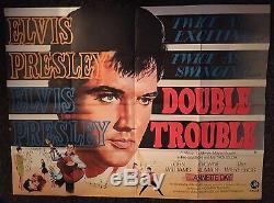 Affiche Du Film Original Elvis Presley Double Trouble Uk Quad 67 Elvis Presley