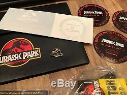 Affiche Originale De Film De Jurassic Park Original Uk Quad 30 X 40 Bundle Press T-shirt