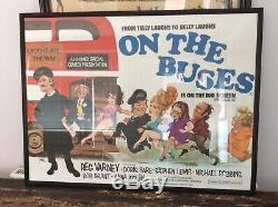 Affiche Originale De Film De Quadrillage Sur Les Autobus. Encadré 41 X 31