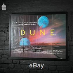 Affiche Originale De Film Dune Quad Dans Un Cadre Noir