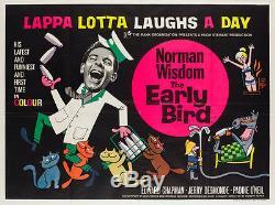 Affiche Originale Du Film Britannique 'the Early Bird Uk Quad\