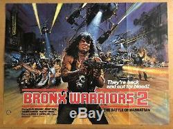 Affiche Originale Du Film De Cinéma Britannique Quad British Warriors 2