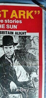 Affiche Originale Du Film De Quads The Sun Teaser Rare (1981)