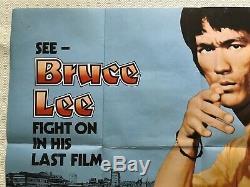 Affiche Originale Du Film Game Of Death - Quad 1978 - Bruce Lee Kung Fu