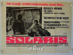 Affiche Originale Du Film Quad Britannique