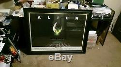 Alien Originale 1979 Uk Quad Cinema Affiche De Film