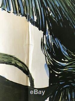 Anniversaire 1968 Film Original Quad Poster Bette Davis Chantrell Art