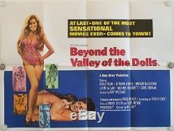 Au-delà De La Vallée Des Poupées Affiche Originale Du Film De Uk Quad Russ Meyer