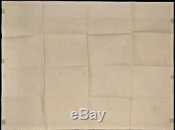 Autant En Emporte Le Vent D'origine Quad Movie Poster 1967 Rr Mint Clark Gable Classique