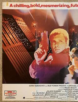 Blade Runner Original British Quad Movie Affiche Ridley Scott Harrison Ford Hauer