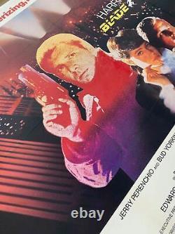 Blade Runner Uk (british Quad) Linen Backed (1982) Affiche De Film