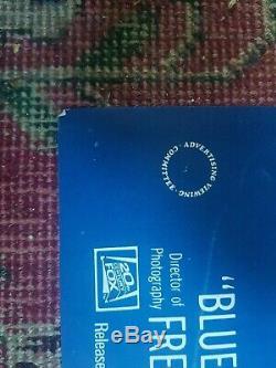 Blue Velvet Quad Uk Originale Du Film Poster 1986 David Lynch Rare
