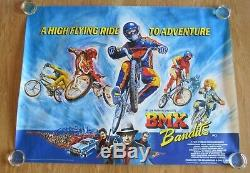 Bmx Bandits Original 1983 Uk Cinema Quad Film Rare Affiche Lamine Nicole Kidman
